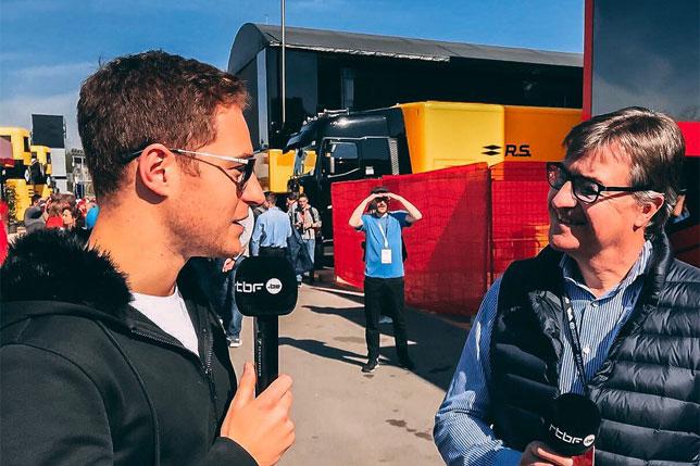 Стоффель Вандорн (фото из Twitter гонщика)