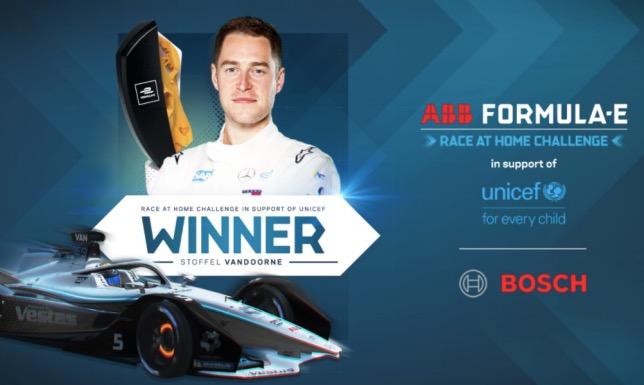 eSports: Вандорн стал чемпионом серии Race at Home