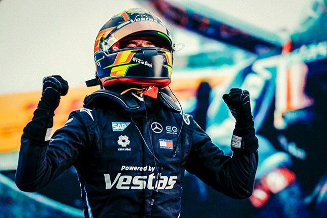 Стоффель Вандорн – победитель финальной гонки сезона Формулы E, фото пресс-служба Mercedes