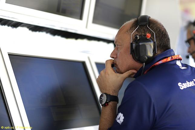 Фредерик Вассёр, руководитель команды Sauber
