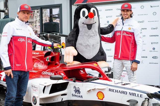 Гонщики Alfa Romeo и Крот