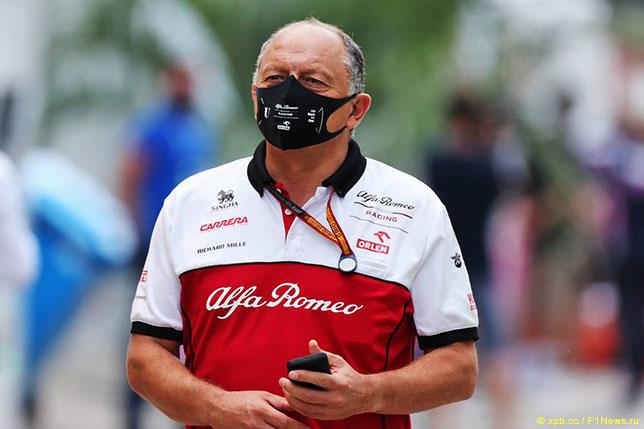 Фредерик Вассёр, руководитель Alfa Romeo Racing