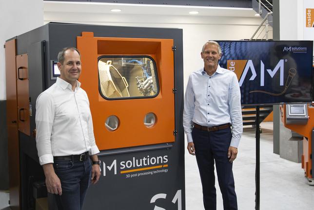 Кристоф Хансен (Sauber) и Штефан Рёслер (Rösler Group)