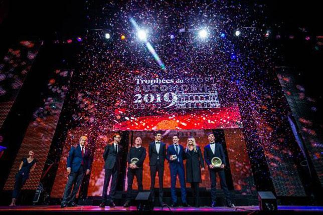 Пьер Гасли на церемонии награждения FFSA (фото пресс-службы FFSA)