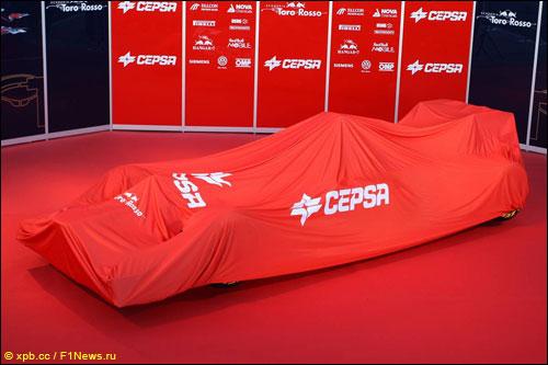 Презентация машины Toro Rosso