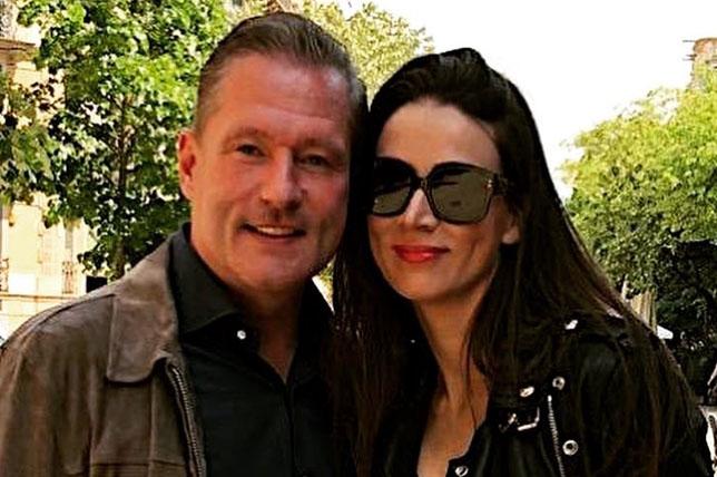Йос Ферстаппен с супругой Сэнди