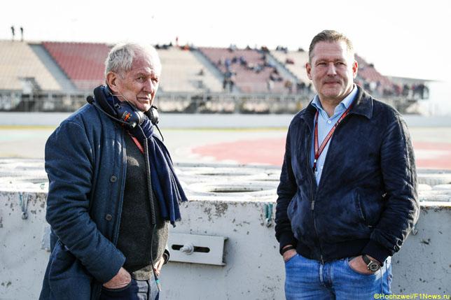Хельмут Марко и Йос Ферстаппен