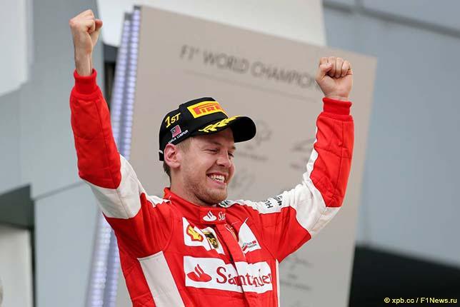 Себастьян Фетттель - победитель Гран При Малайзии