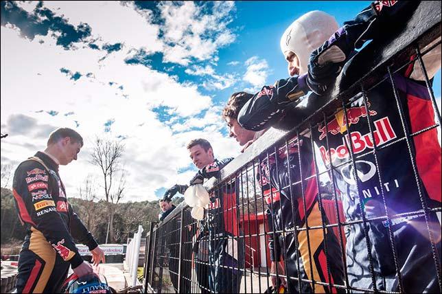 Гонщики молодёжной программы Red Bull