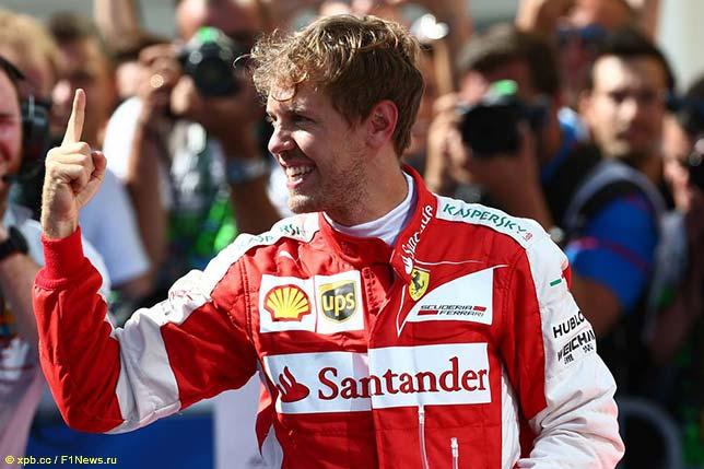 Себастьян Феттель - победитель Гран При Венгрии