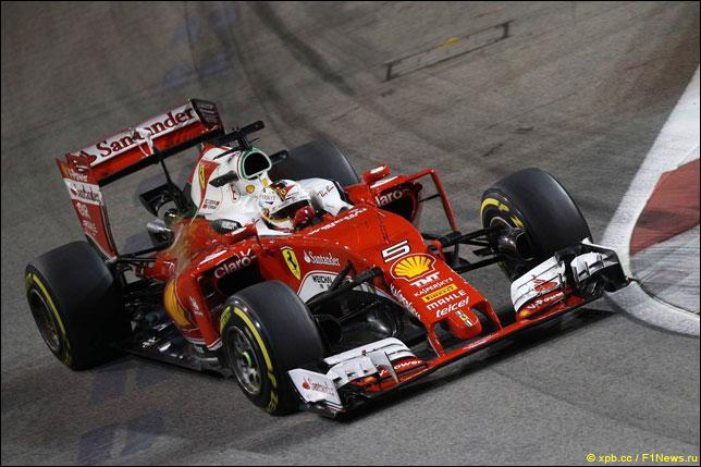 Гран-при Сингапура. Ферстаппен— лучший впервой тренировке