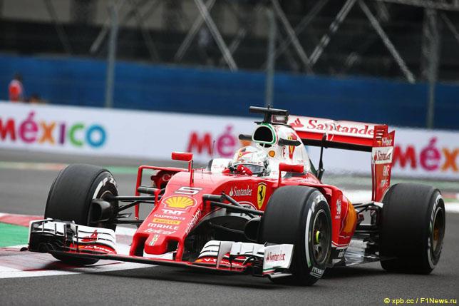 Хэмилтон стал первым вквалификации Гран-при Мексики