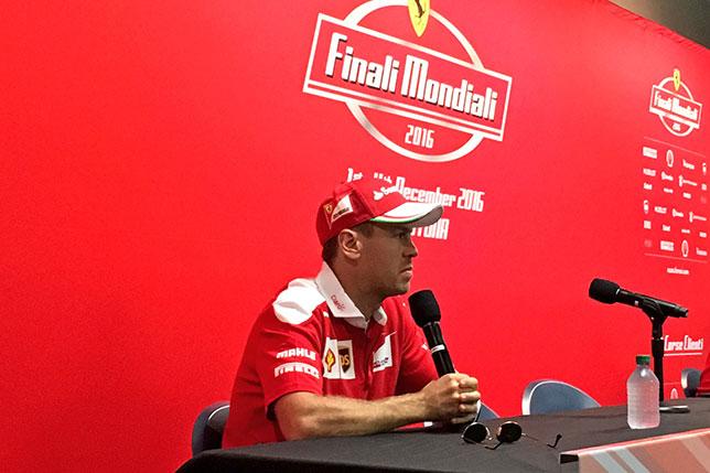 Себастьян Феттель на Ferrari Racing Days в Дайтоне