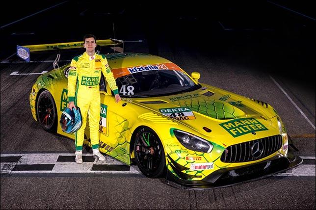 Фабиан Феттель. Foto: Tim Upietz/Gruppe C Photography/HTP Motorsport