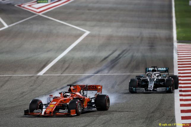 Гран При Бахрейна. Себастьян Феттель