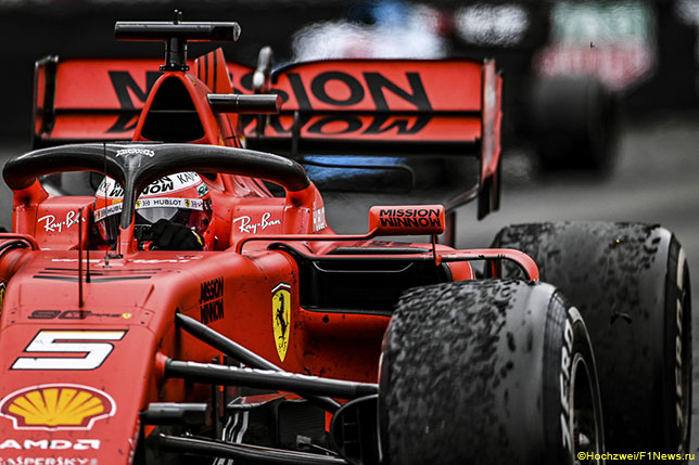Себастьян Феттель занял в Монако второе место