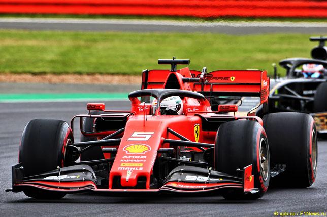 Феттель не может найти подход к Ferrari SF90