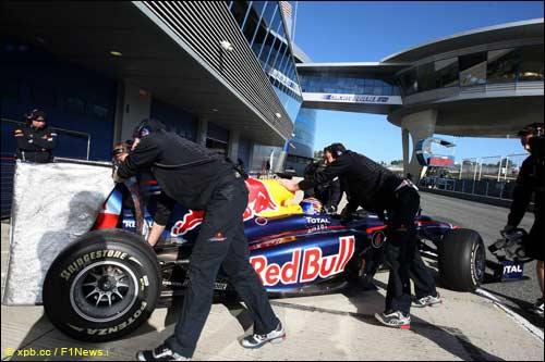 Новый Red Bull RB7 выйдет на трассу уже 1 февраля в Валенсии
