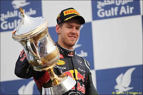 Себастьян Феттель - победитель Гран При Бахрейна