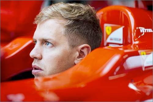 Себастьян Феттель в Ferrari