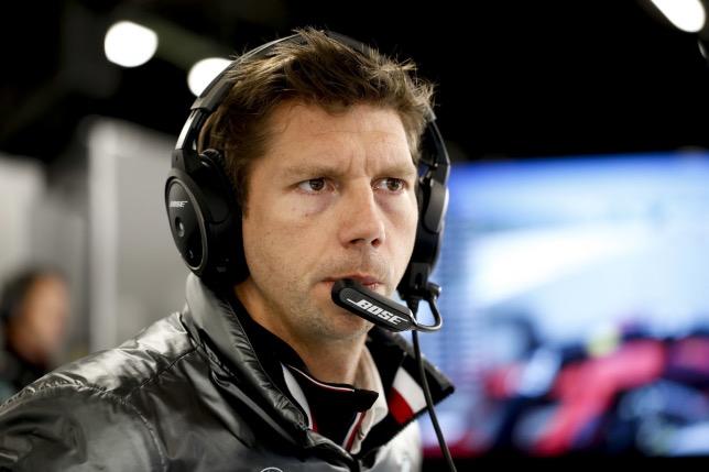 Джеймс Ваулз, главный стратег команды Mercedes