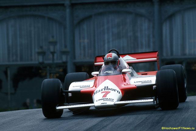 Джон Уотсон за рулём McLaren, Гран При Монако 1982 года