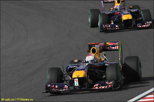 Гонщики Red Bull на трассе в Сузуке