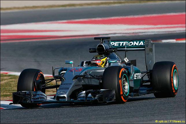 Паскаль Верляйн отработал большую часть программы Mercedes в четверг