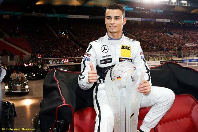 Паскаль Верляйн - самый молодой чемпион в истории DTM