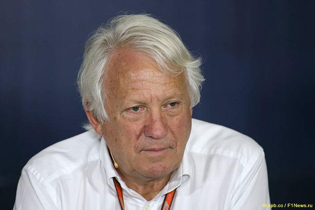 Чарли Уайтинг, директор гонок FIA