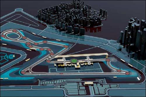 Схема будущей трассы Buddh