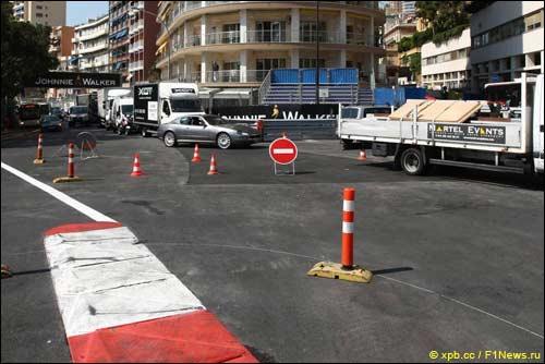 Монако накануне гонки