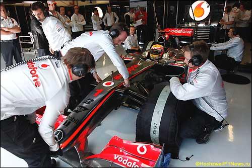 Льюис Хэмилтон. McLaren MP4-24