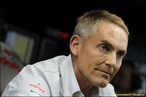 Руководитель McLaren Мартин Уитмарш