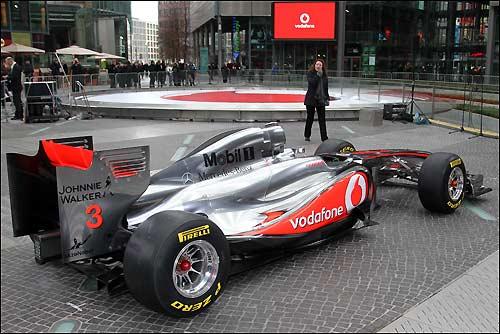McLaren MP4-26 на берлинской презентации