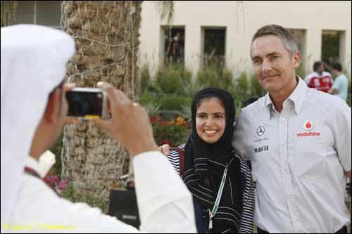 Мартин Уитмарш в Бахрейне, 2010 год