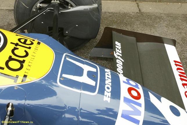 Двигатели Honda в 80-х годах на машинах Williams уже стояли