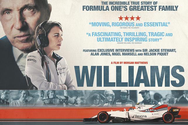 Постер к фильму о команде Williams