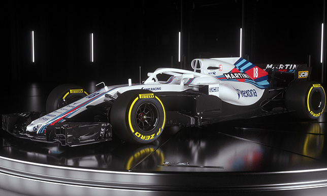 Новая машина Williams FW41