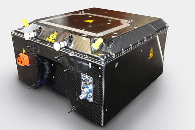 Батарея, разработанная Williams Advanced Engineering, для Формулы E