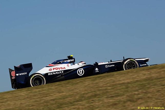 Валттери Боттас за рулём Williams-Renault на Гран При США 2013 года