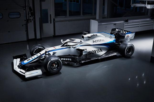 Новая раскраска Williams FW43