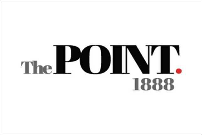 Логотип The Point.1888