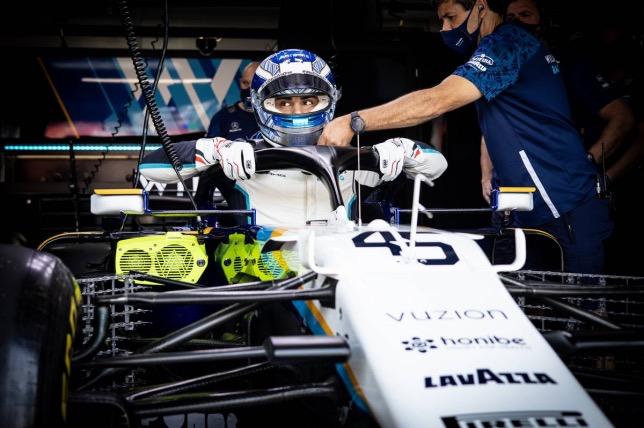 Рой Ниссани в кокпите машины Williams, фото XPB
