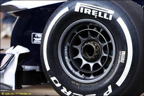 Переднее колесо Williams FW35