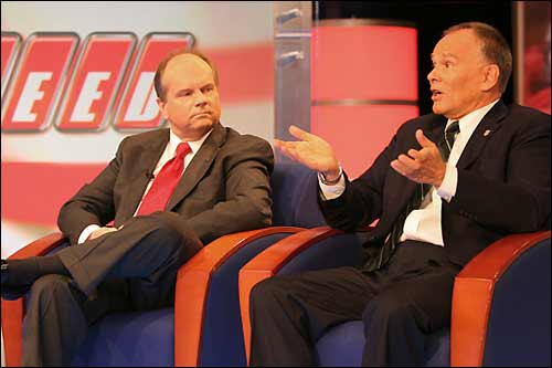 Кен Андерсон и Питер Уиндзор представляют проект USF1 на Speed TV