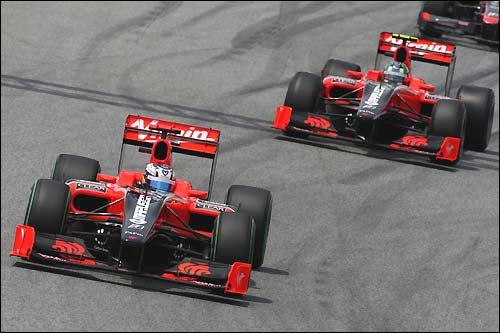 Гонщики Virgin Racing