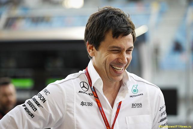 Тото Вольфф, руководитель Mercedes Motorsport
