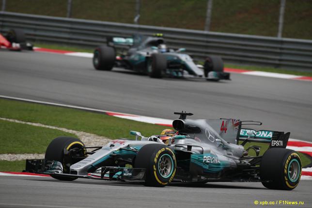 Гран При Малайзии. Гонщики Mercedes