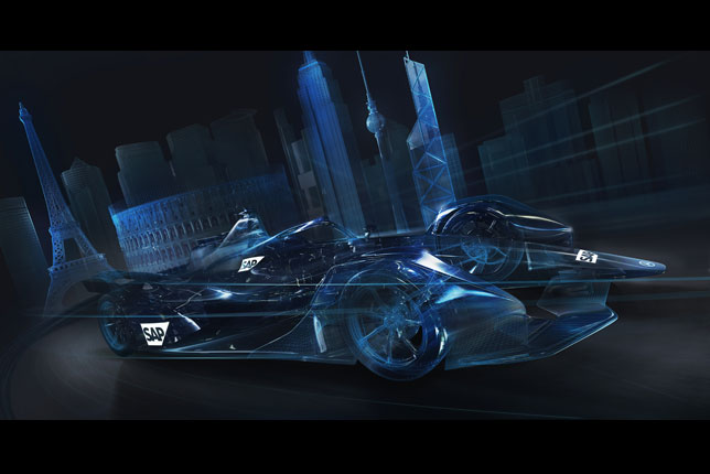 Компания SAP - партнер Mercedes в Формуле E